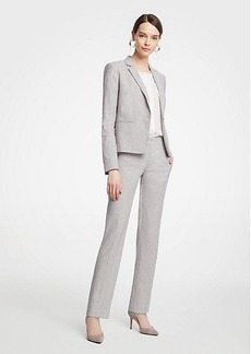 Ann Taylor The Straight Leg Pant In Farrow Stripe - Curvy Fit