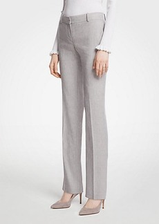 Ann Taylor The Straight Leg Pant In Farrow Stripe