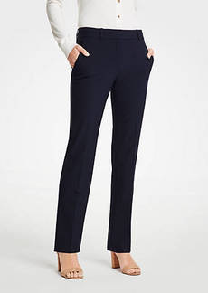 Ann Taylor The Straight Leg Pant In Seasonless Stretch - Classic Fit