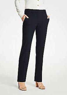 Ann Taylor The Straight Pant In Seasonless Stretch - Classic Fit