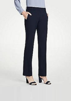 Ann Taylor The Straight Pant In Seasonless Stretch - Curvy Fit