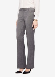Ann Taylor The Straight Leg Pant In Sharkskin - Classic Fit