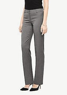Ann Taylor The Straight Pant In Sharkskin