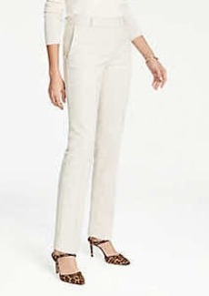 Ann Taylor The Straight Leg Pant In Texture