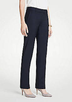 Ann Taylor The Straight Leg Pant In Tropical Wool - Curvy Fit