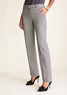 Ann Taylor The Straight Pant in Birdseye - Classic Fit