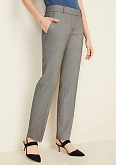 Ann Taylor The Straight Pant in Birdseye - Curvy Fit