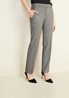 Ann Taylor The Straight Pant in Birdseye