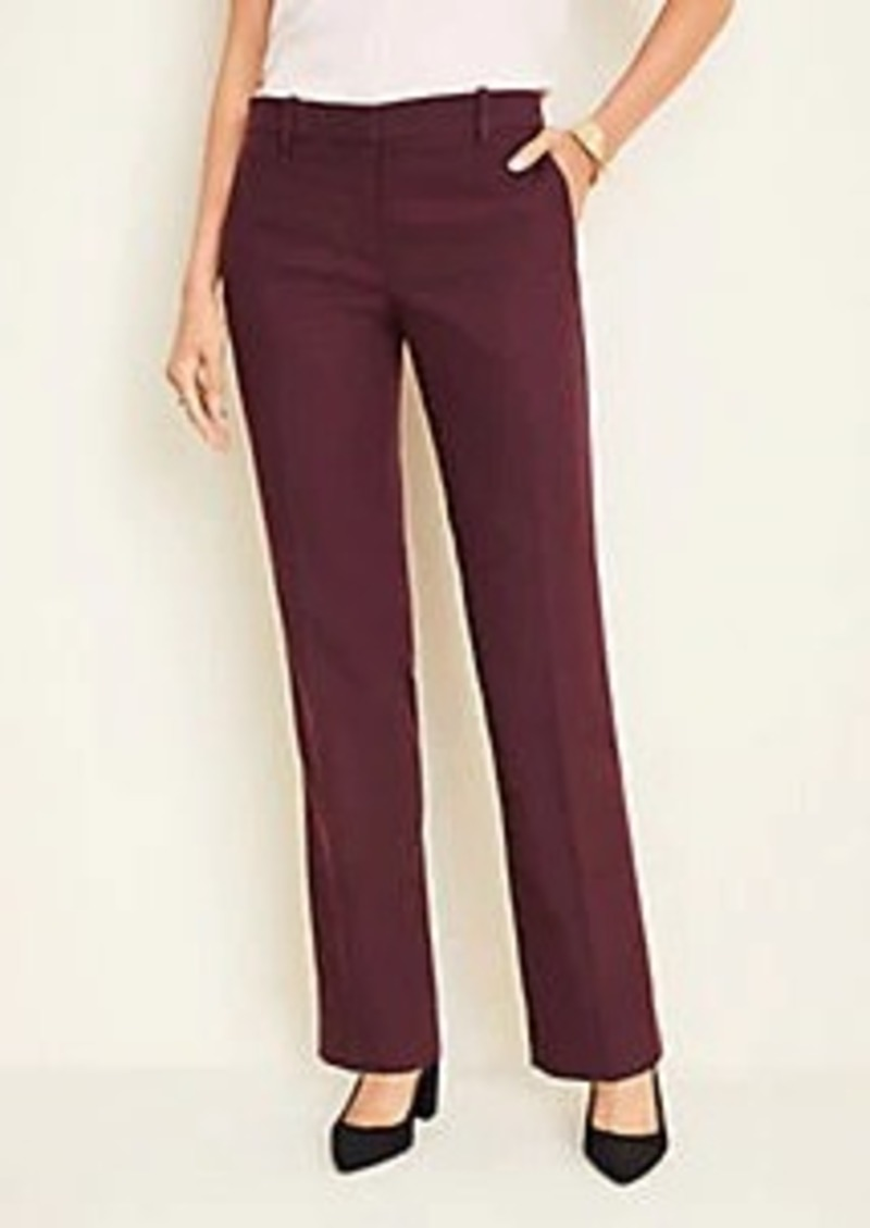 Ann Taylor The Straight Pant In Flannel - Curvy Fit