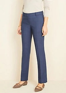 Ann Taylor The Straight Pant in Glen Plaid
