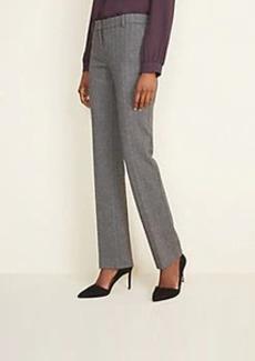 Ann Taylor The Straight Pant in Herringbone - Curvy Fit