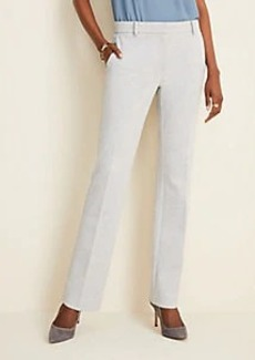 Ann Taylor The Straight Pant in Herringbone - Curvy Fit