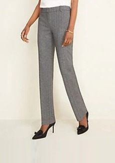 Ann Taylor The Straight Pant in Herringbone