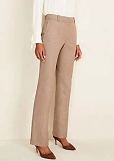 Ann Taylor The Straight Pant in Melange - Classic Fit