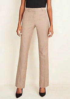 Ann Taylor The Straight Pant in Melange - Curvy Fit