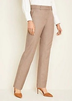 Ann Taylor The Straight Pant in Melange