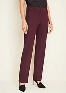 Ann Taylor The Straight Pant in Twill Flannel - Curvy Fit