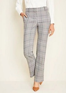 Ann Taylor The Straight Pant in Windowpane