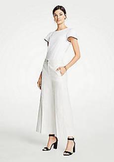 Ann Taylor The Striped Wide Leg Marina Pant