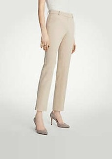 Ann Taylor The Tall Ankle Pant In Cotton Sateen