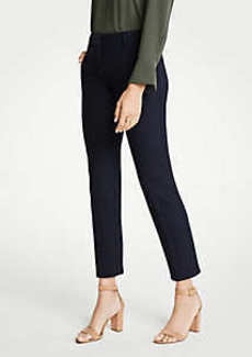 Ann Taylor The Tall Ankle Pant In Doublecloth