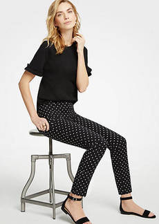 Ann Taylor The Tall Ankle Pant In Polka Dot