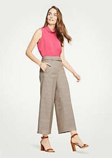 Ann Taylor The Tall Plaid Marina Pant