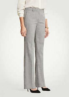 Ann Taylor The Trouser In Crosshatch - Classic Fit