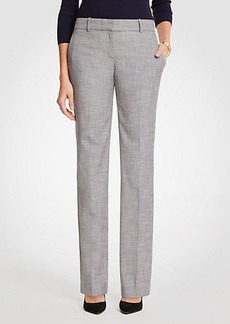 Ann Taylor The Trouser In Crosshatch - Curvy Fit