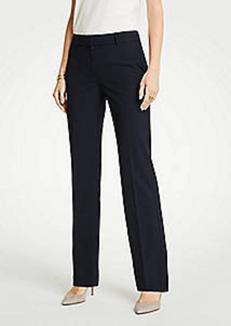 Ann Taylor The Trouser Pant In Seasonless Stretch - Classic Fit