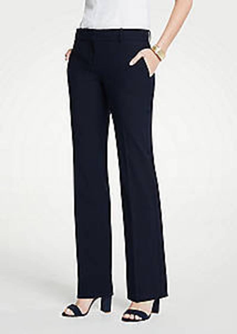 Ann Taylor The Trouser Pant In Seasonless Stretch - Curvy Fit
