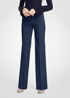 Ann Taylor The Trouser In Textured Stretch