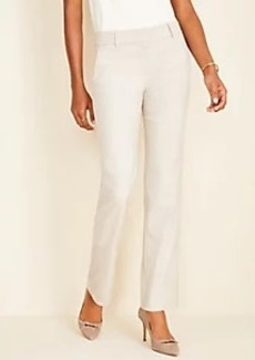 Ann Taylor The Trouser Pant in Crosshatch - Curvy Fit