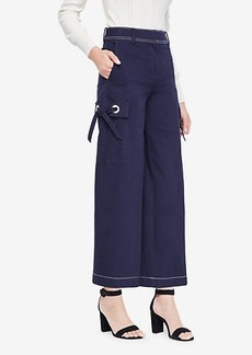 Ann Taylor The Wide Leg Crop Pant with Grommets