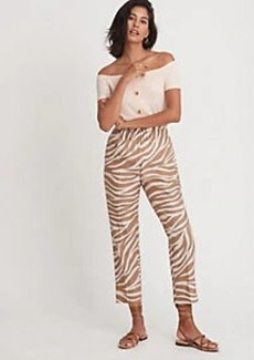 Ann Taylor The Zebra Pull On Pant