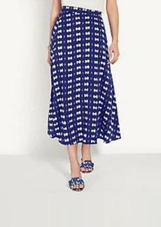 Ann Taylor Tie Dye Midi Skirt