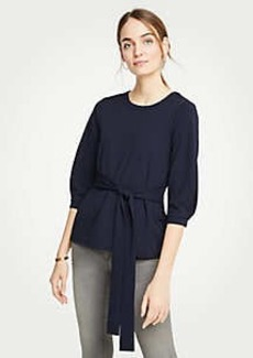 Ann Taylor Tie Front Top
