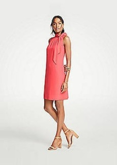 Ann Taylor Tie Neck Sheath Dress