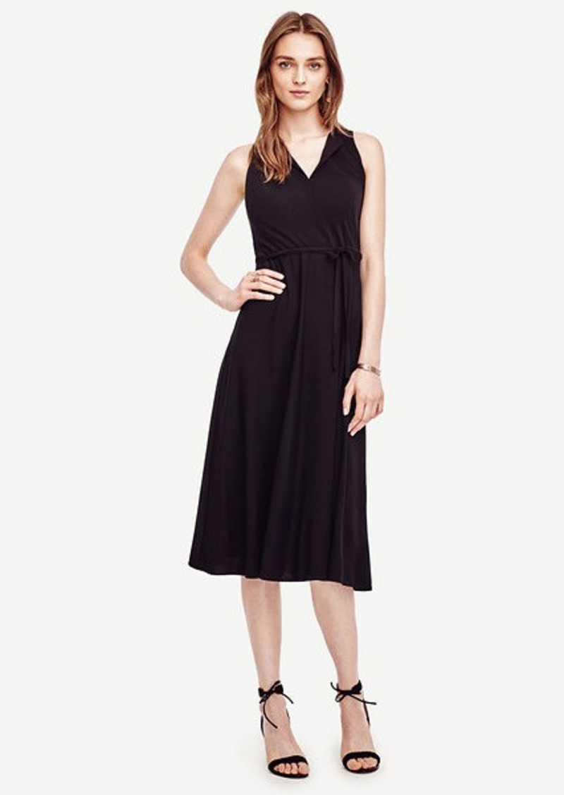 Ann Taylor Tie Waist Dress