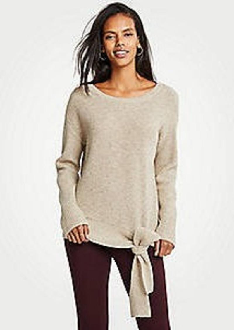 Ann Taylor Tie Waist Sweater