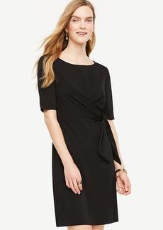 Tied Matte Jersey Dress