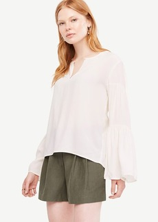 Tiered Bell Sleeve Blouse