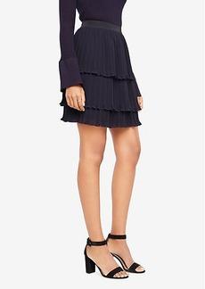 Ann Taylor Tiered Chiffon Ruffle Skirt