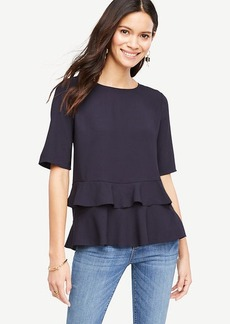 Tiered Ruffle Hem Top