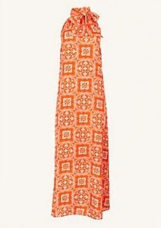 Ann Taylor Tiled Halter Maxi Dress