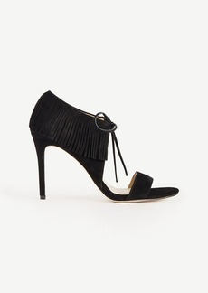 Toni Suede Fringe Sandals