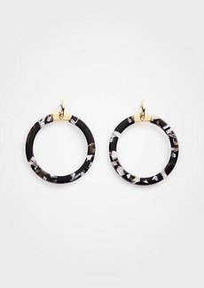 Ann Taylor Tortoiseshell Statement Earrings