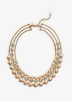 Ann Taylor Trio Layer Necklace
