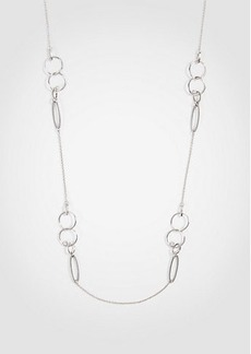 Ann Taylor Triple Circle Station Necklace