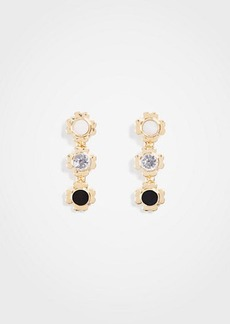 Ann Taylor Triple Flower Earrings